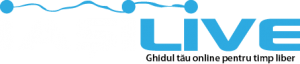Logo Iasi Live background negru PNG